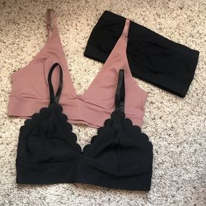 3️⃣BRALETTES from Charlotte Russe, size small